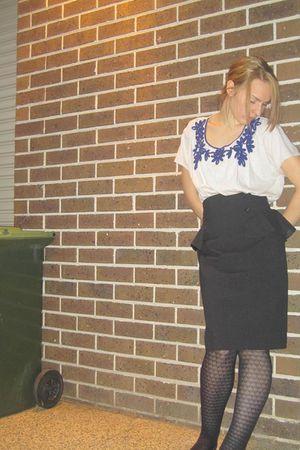 asos shirt - Cue skirt