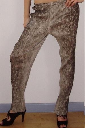 Pleats Please pants - Issey Miyake blouse - Issey Miyake top - seychelles shoes
