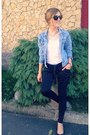 Blue-random-brand-jacket-black-zara-sunglasses-white-basic-zara-t-shirt