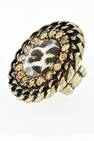gold My Alexas Store ring