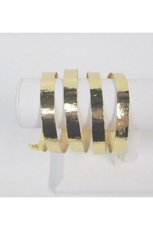 gold My Alexas Store bracelet