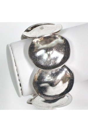 silver silvertone My Alexas Store bracelet
