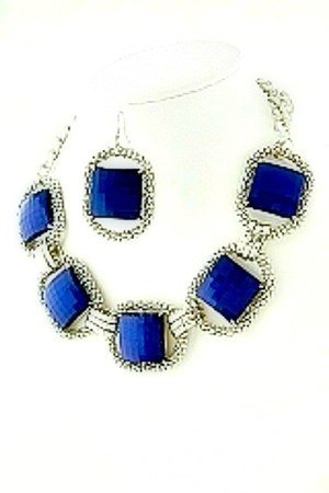 navy My Alexas Store necklace