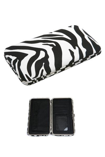 black zebra My Alexas Store wallet