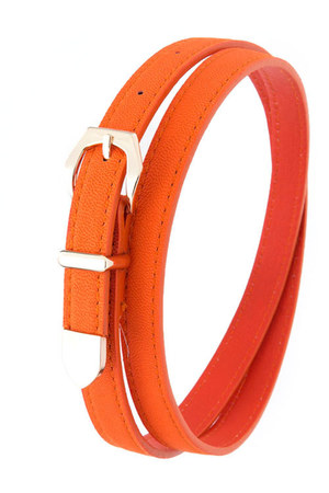 orange orange My Alexas Store belt