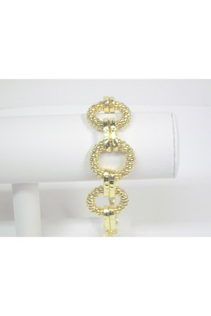 gold goldtone My Alexas Store bracelet