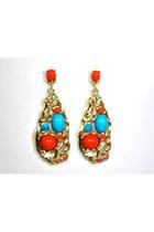 Gold-my-alexas-store-earrings
