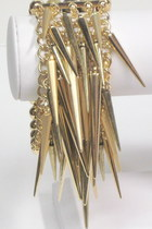 Gold-goldtone-spikes-my-alexas-store-bracelet