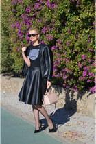 pink Michael Kors bag - Stradivarius heels
