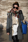 Light-brown-zara-boots-gray-rag-bone-coat-camel-plaid-forever-21-scarf
