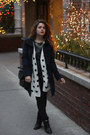 Black-old-navy-coat-ivory-polka-dot-forever-21-sweater