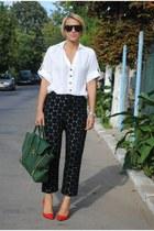 Phillip Lim bag - Marni x H&M pants - Zara heels