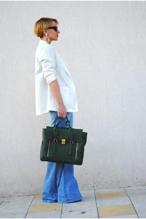 Bershka jeans - H&M blazer - Phillip Lim bag