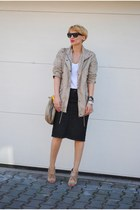 Mango jacket - Miu Miu bag - Alexander Wang heels