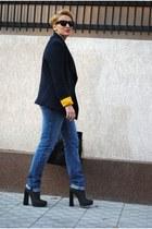 Alexander Wang boots - Topshop jeans - Zara jacket