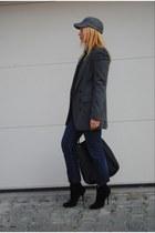 Giuseppe Zanotti boots - pull&bear blazer - Gucci bag
