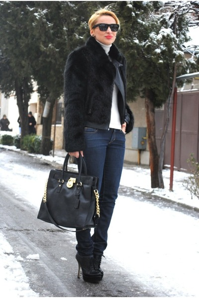 Michael Kors Boots With Fur Boots Michael Kors Bag