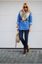 Zara boots - Massimo Dutti shirt - Miu Miu bag