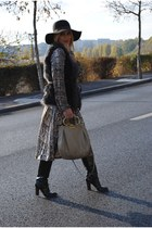 H&M dress - Dolce&Gabbana boots - H&M hat - Miu Miu bag - H&M vest