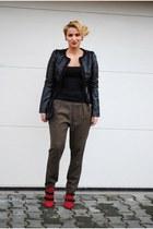 Bershka boots - Sfera jacket - Zara pants