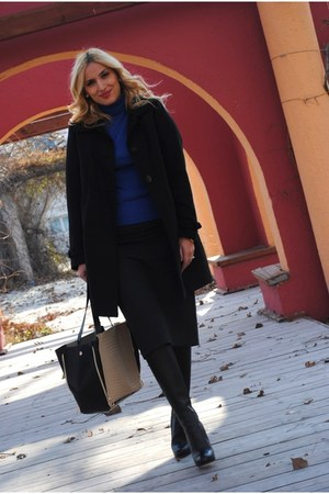 Christian Louboutin boots - H&M coat