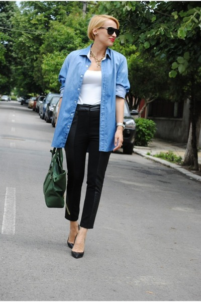 Phillip Lim bag - Massimo Dutti shirt - Zara heels