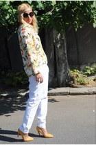 Zara blouse - Sfera pants - Zara heels