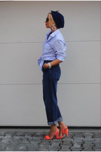 H&M shoes - Vintage Levis jeans - Massimo Dutti shirt