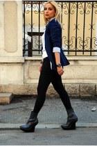 Stella McCartney boots - Zara blazer