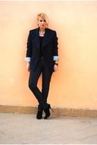 Zara blazer - Giuseppe Zanotti boots
