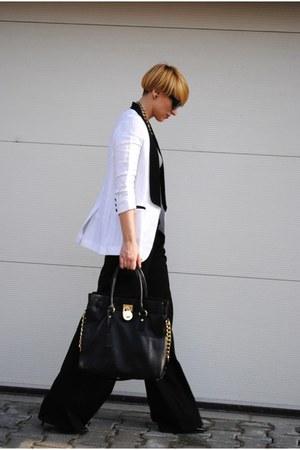 ipekyol blazer - Michael Kors bag - BSB pants