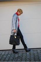 H&M blazer - Stella McCartney boots