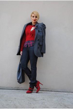 pull&bear blazer - Bershka boots