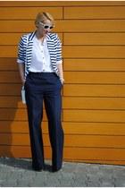 H&M blouse - COS jeans - BLANCO blazer