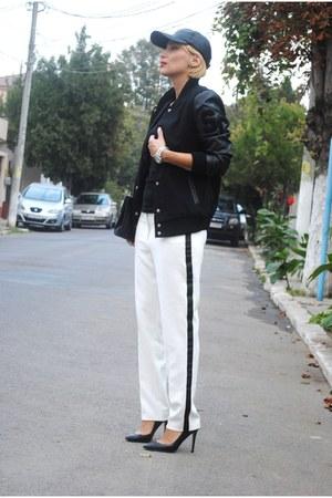 River Island pants - Zara heels
