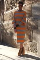 Jeffrey Campbell boots - H&M dress - Mango bracelet