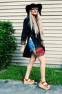 Black-100-polyester-dress-black-old-navy-hat-black-purse