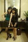 Black-topshop-shoes-black-forever-21-accessories-green-topshop-black-skirt