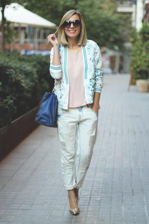 Sheinside jacket - maliparmi bag - Pilar Burgos heels