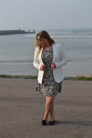 H&M shoes - H&M dress - H&M blazer