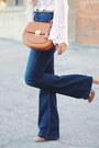 Justfab-shoes-flared-h-m-jeans-crossbody-aldo-bag-forever-21-sunglasses