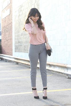 H&M bag - lulus shoes - H&M top - H&M pants