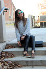 Leopard-print-target-shoes-h-m-sweater-h-m-leggings-plaid-forever-21-shirt