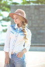 Light-blue-similar-8-seconds-jeans-dark-brown-similar-jcrew-hat