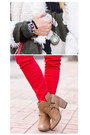 Bronze-asos-boots-olive-green-romwe-jacket-olive-green-sheinside-sweater