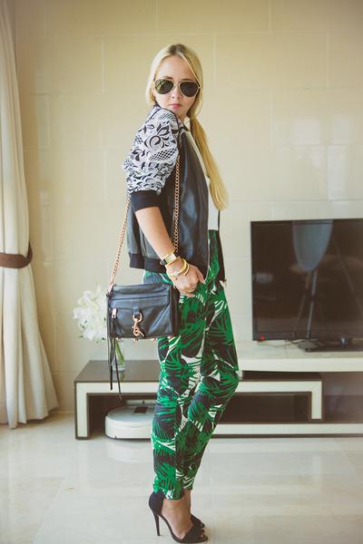 black similar Chicwish jacket - black Rebecca Minkoff bag