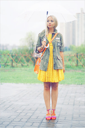 asos dress - Topshop jacket - Miss Nabi bag - casio watch