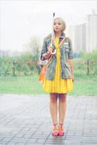 asos dress - Topshop jacket - Miss Nabi bag - casio watch