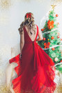 Ruby-red-romwe-dress