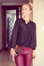 Black-vedette-intimate-black-miss-nabi-blouse-mustard-miss-nabi-heels